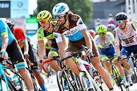 Ben Gastauer (L/Ag2r) und Raphael Kockelmann (L/Vorarlberg) - Skoda Tour de Luxembourg 2020 - 2.Etappe Remich/Hesperange 160,8 Km - Foto: Serge Waldbillig