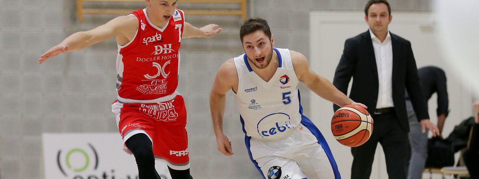 Kevin Moura (r.) verlässt Walferdingen.