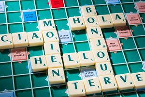 Letzebuergesch, Scrabble, Hola, Bonjour, Moien, Ciao, Hello, Terve, Foto Lex Kleren