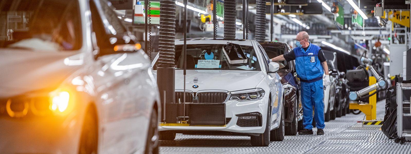 BMW-Autowerk im bayrischen Dingolfing.