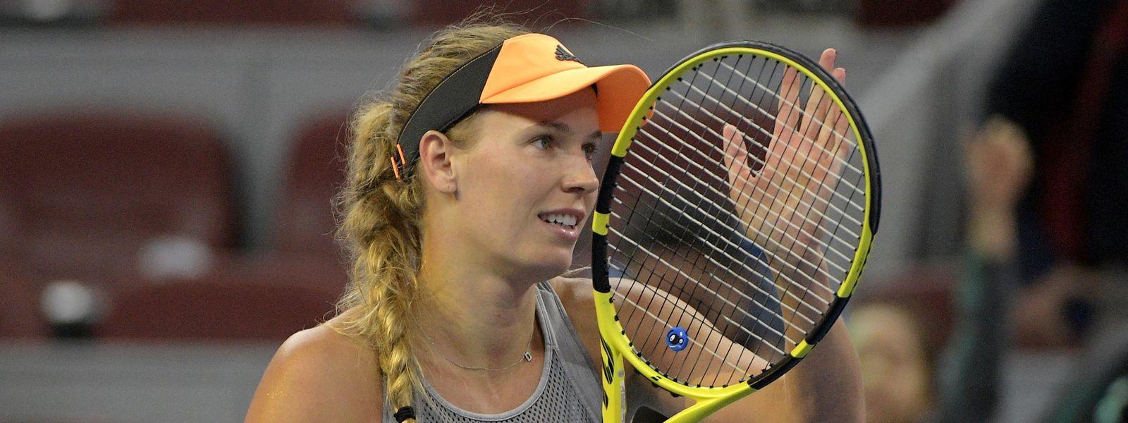 Caroline Wozniacki war 71 Wochen lang die Nummer eins der Tennisweltrangliste.