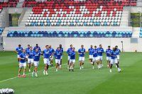Entraînement, Luxembourg – Azerbaïdjan. Stade de Luxembourg. Foto: Stéphane Guillaume
