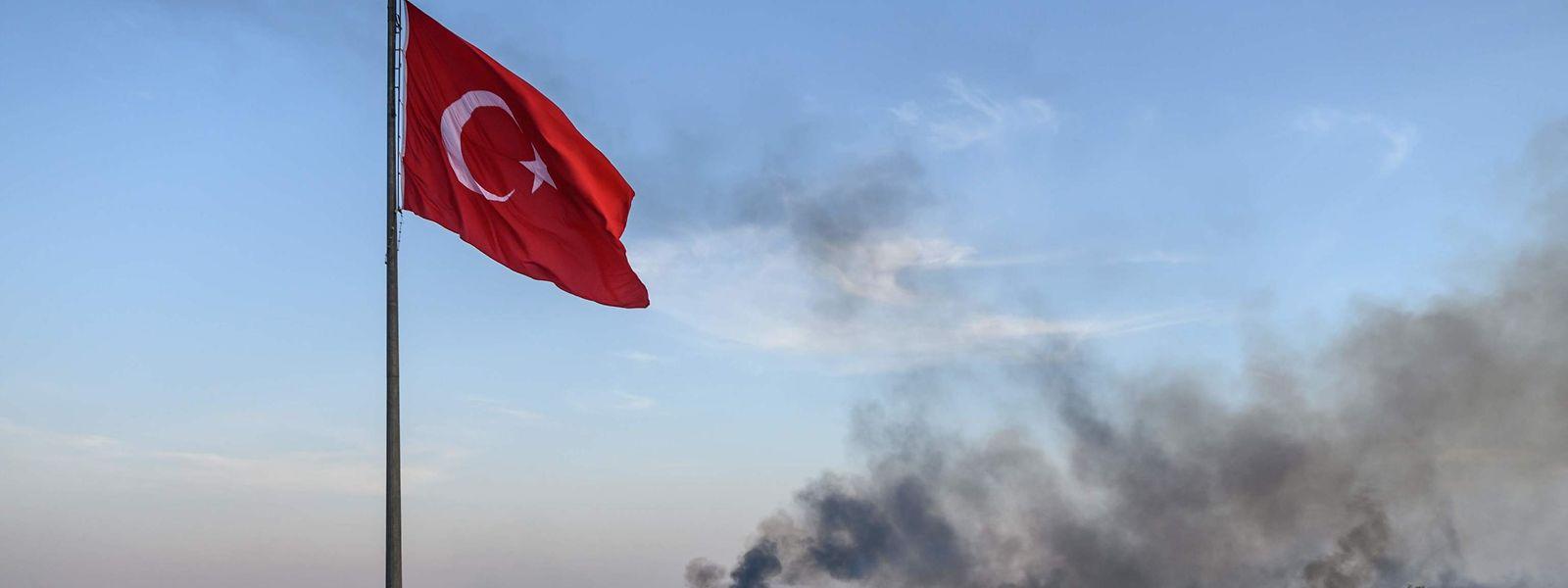 Les forces turques ont déjà conquis onze villages depuis le début des opérations.
