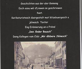 """Jéinesche Kalenner """"Eng Erënnerung un e Frend den Änder Bausch"""""""