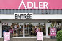 Das Adler-Geschäft in Foetz. Die Modekette betreibt drei Geschäfte in Luxemburg.