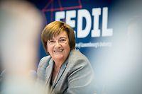 Wirtschaft,CdP Fedil,Michèle Detaille,Foto: Gerry Huberty/Luxemburger Wort