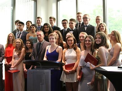 Final year students at their summer ball received some good news this week