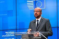 Presidente do Conselho Europeu, Charles Michel.