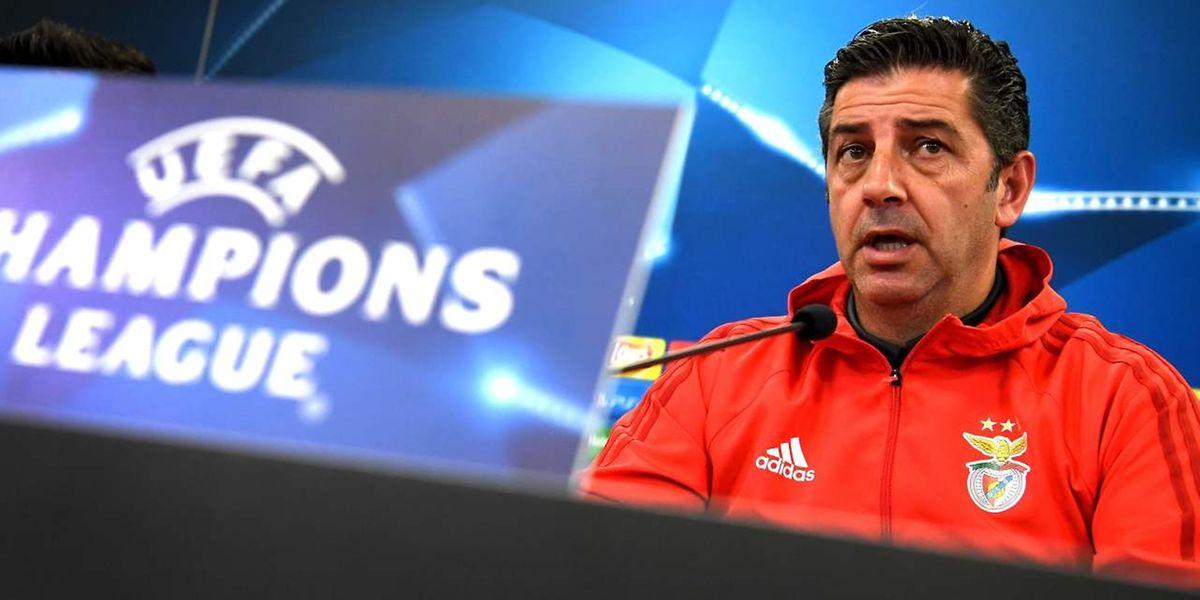 O treinador do Benfica, Rui Vitoria.