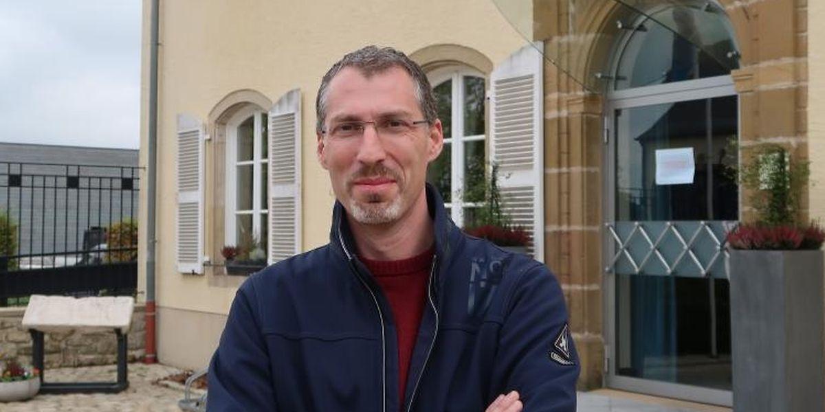 Jean-François Wirtz will als neuer Bürgermeister den Akzent auf Wohnungsbau und Kinderbetreuung legen.
