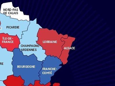 Ces trois régions n'en forment désormais plus qu'une.