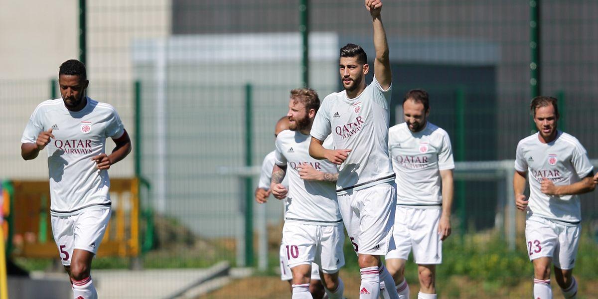 Samir Hadji et le Fola ont réussi leur entrée, les Eschois ont écarté les promus de Käerjéng 0-4.