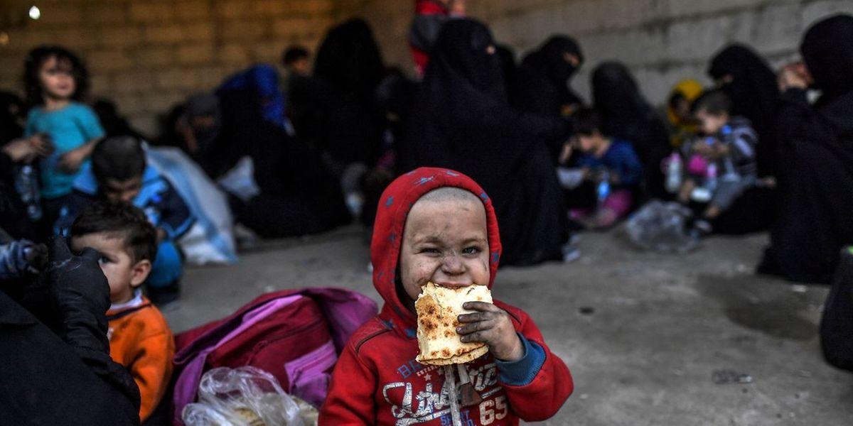 Tausende Zivilisten konnten aus Al-Rakka fliehen.