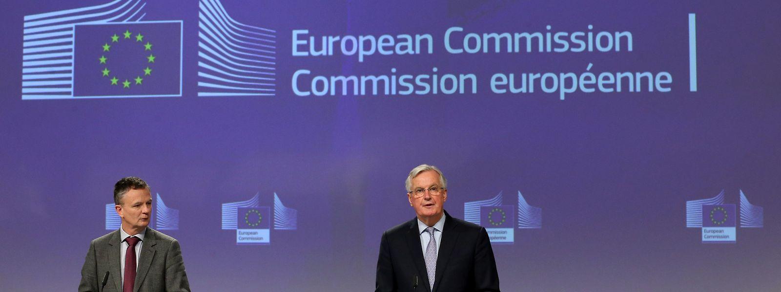 Comme Michel Barnier le redoutait, les négociations avec le Royaume-Uni s'annoncent longues et difficiles.