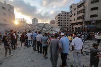Die Lage zwischen militanten Palästinensern im Gazastreifen und Israel bleibt angespannt.