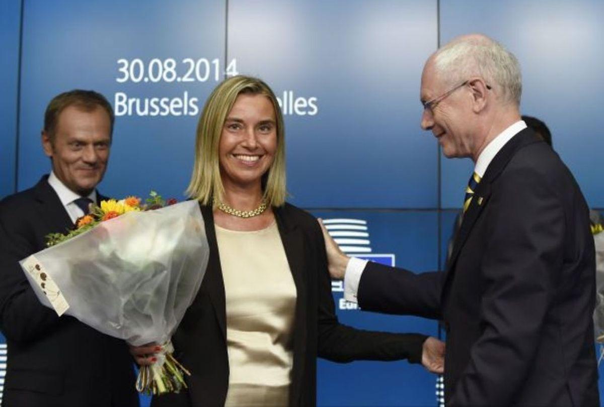 Federica Mogherini, a été nommée samedi chef de la diplomatie européenne.