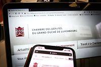 online.fr, chambre des députés, nouveau site internet,  Foto: Anouk Antony/Luxemburger Wort