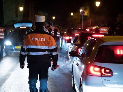 Alkoholkontrolle Fastnacht 2017 Polizei Polizeikontrolle