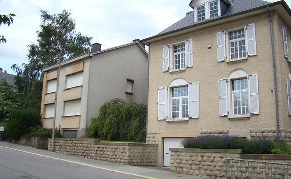 Une vue de l'avenue Dr Gaasch à Rodange.