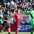 04 Fussball Rueckspiel in der dritten Qualifikationsrunde der Europa League zwischen dem Progres Niederkorn und dem FC Ufa in Differdingen am 16.08.2018 Olivier THILL (10 PN)