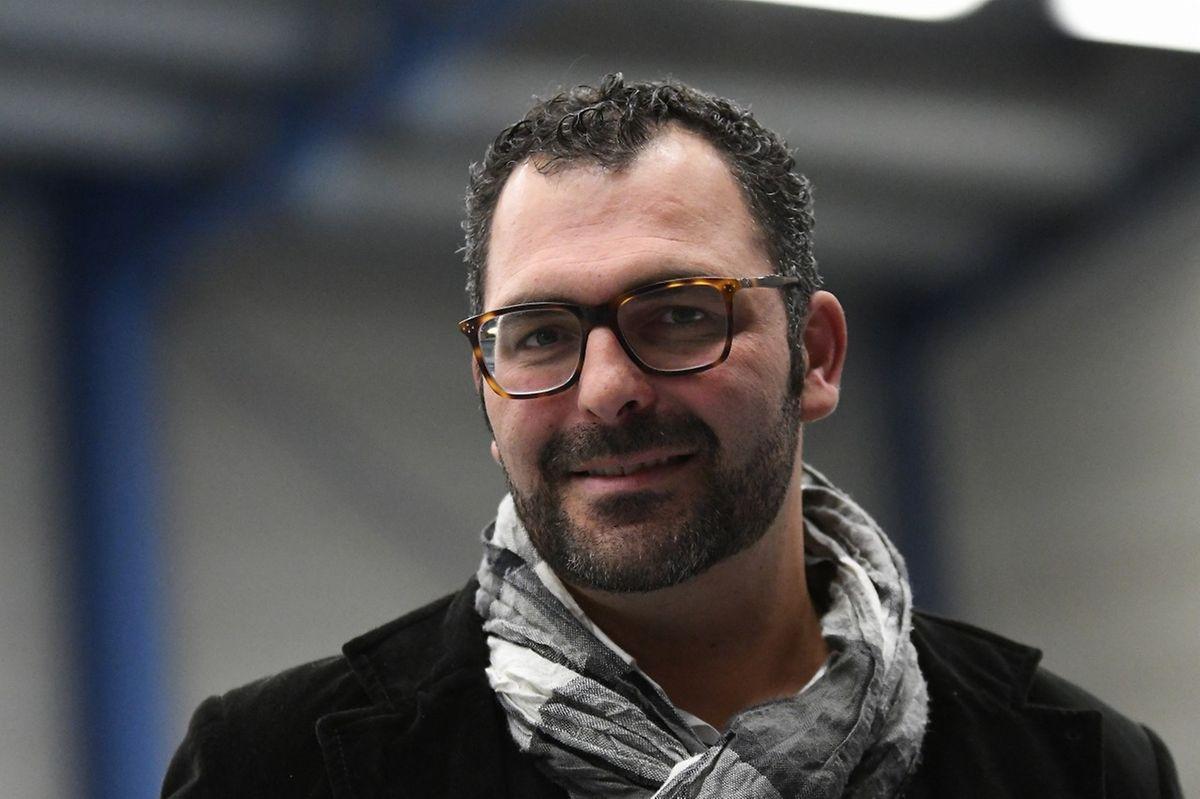 Felipe Silvestre, responsável do futsal da US Esch.