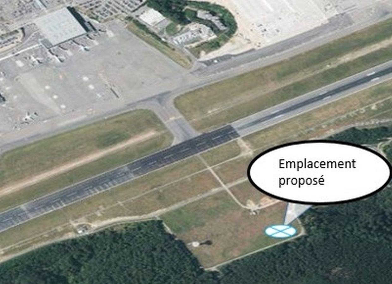 La future tour de contrôle, destinée à l'administration de la navigation aérienne, ne devrait pas voir le jour avant 2025.