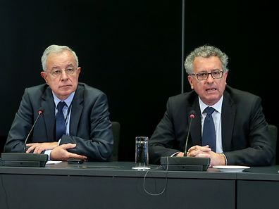 Pierre Gramegna (r.) and Alain Lamassoure