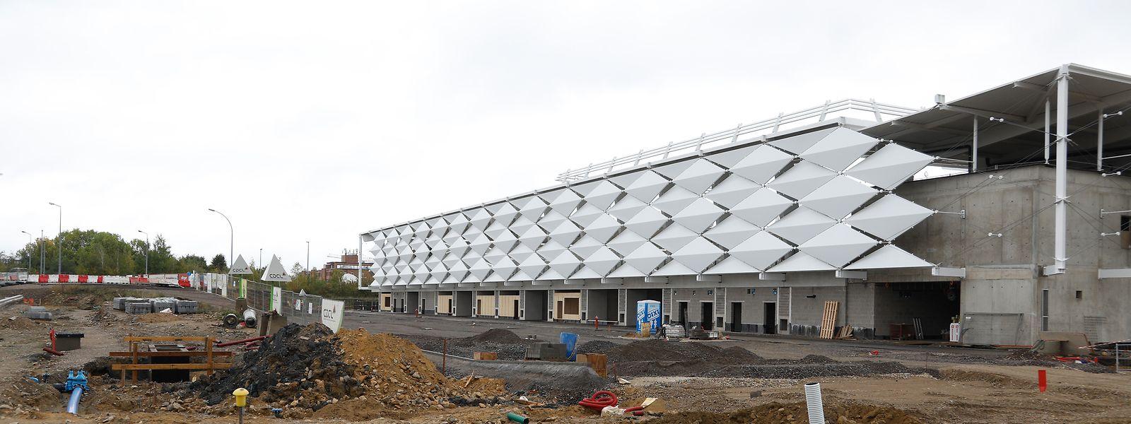 Das Stadion wird in den kommenden Monaten fertig gestellt.