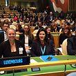 Carole Dieschbourg (links) vertrat Luxemburg beim Gipfel in New York.