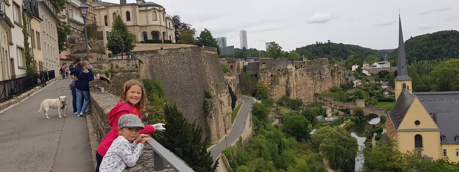 La promenade Unesco, au centre de la capitale, devient désormais accessible à tous les publics qu'ils aient une déficience mentale ou physique.