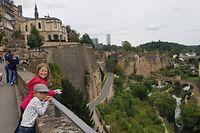 City Promenade for Kids, Serie Unterwegs in Luxemburg