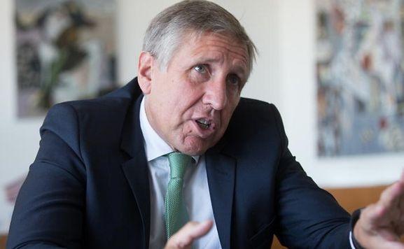 Francois Bausch, ministre du Développement durable et des Infrastructures.