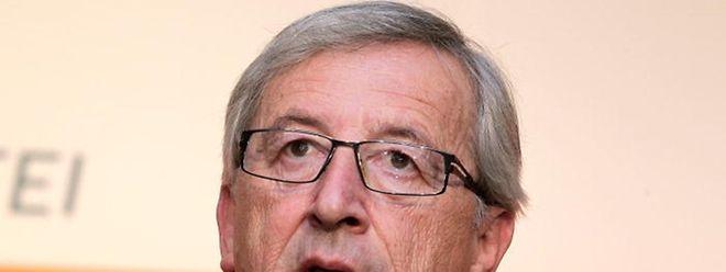 Jean-Claude Juncker deu a notícia ao canal de televisão alemão ZDF.
