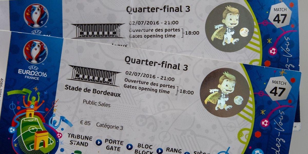 Teures Vergnügen: Die Tickets für das Viertelfinale kosteten auf Viagogo mehr als das Dreifache des Orginalpreises.