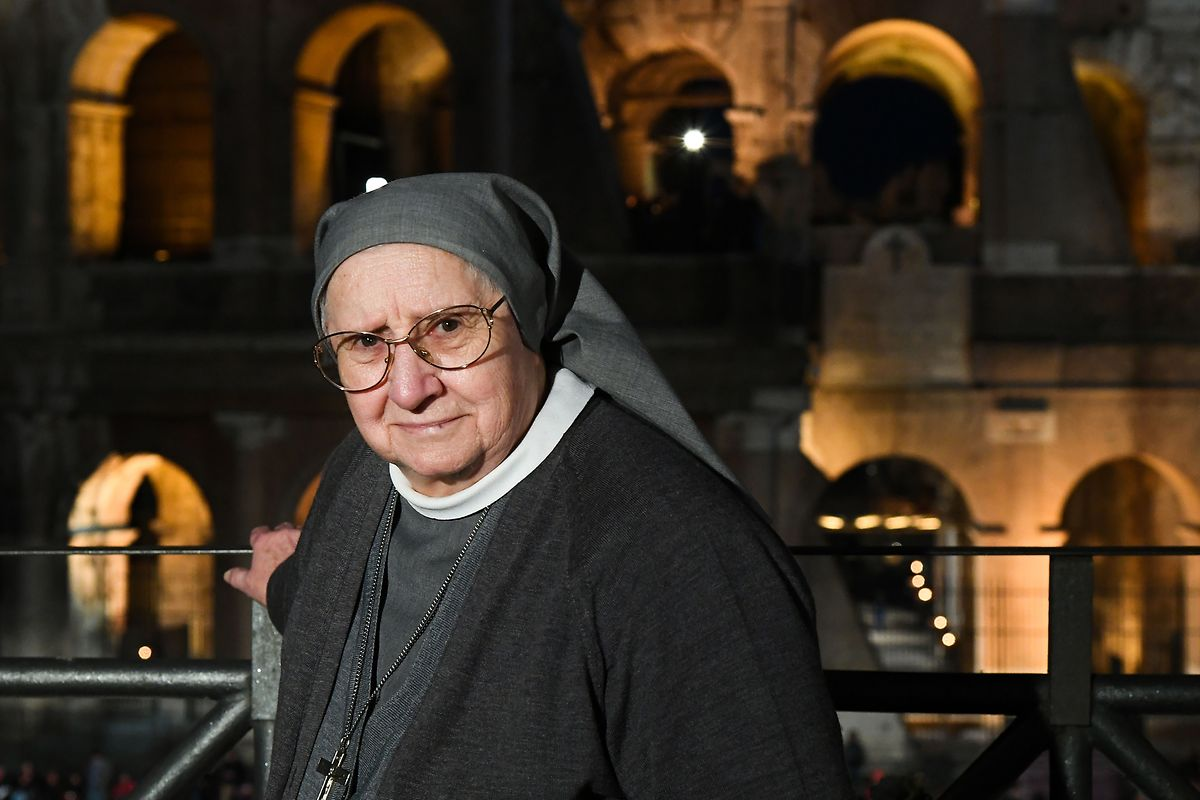 Die Nonne Eugenia Bonetti.