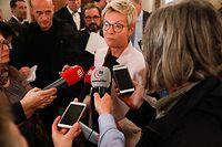 Politik, chambre des députés, Lage der Nation, Vereidigung, déi Gréng, Semiray Ahmedova  Foto: Anouk Antony/Luxemburger Wort