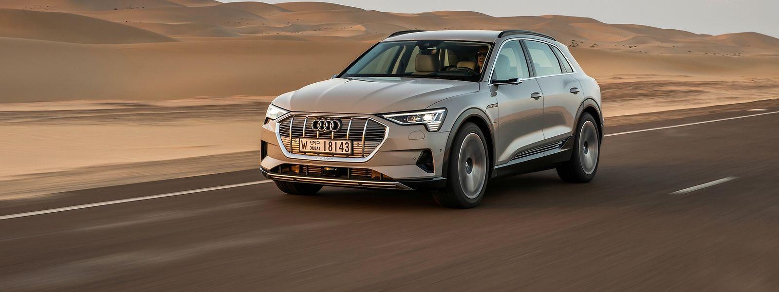 Der e-tron ist laut Audi ein Elektro-SUV für Sport, Familie und Freizeit.
