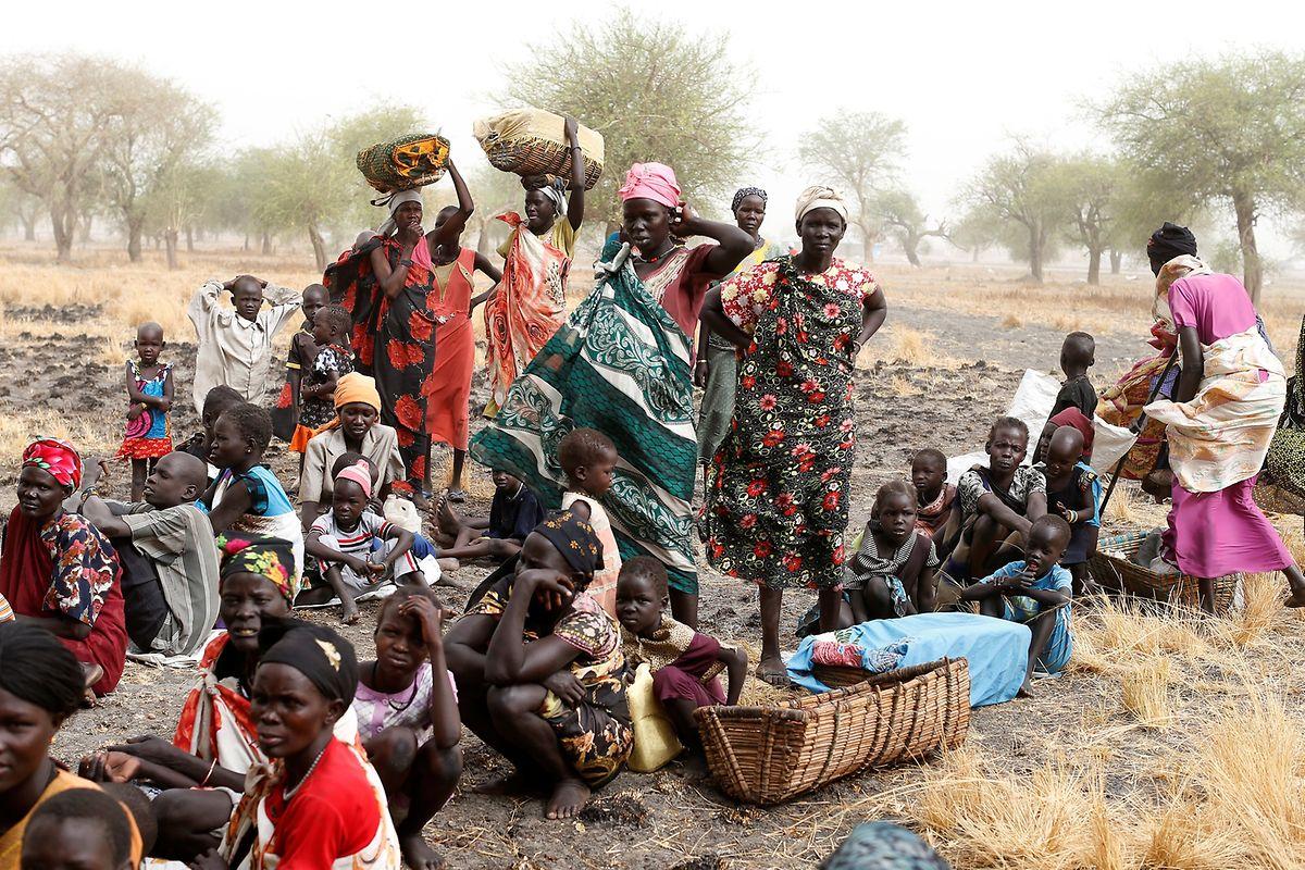 Beispiel Süd-Sudan: Aufgrund einer unterentwickelten Infrastruktur und einer archaischen Landwirtschaft sind Nahrungsengpässe unvermeidbar.