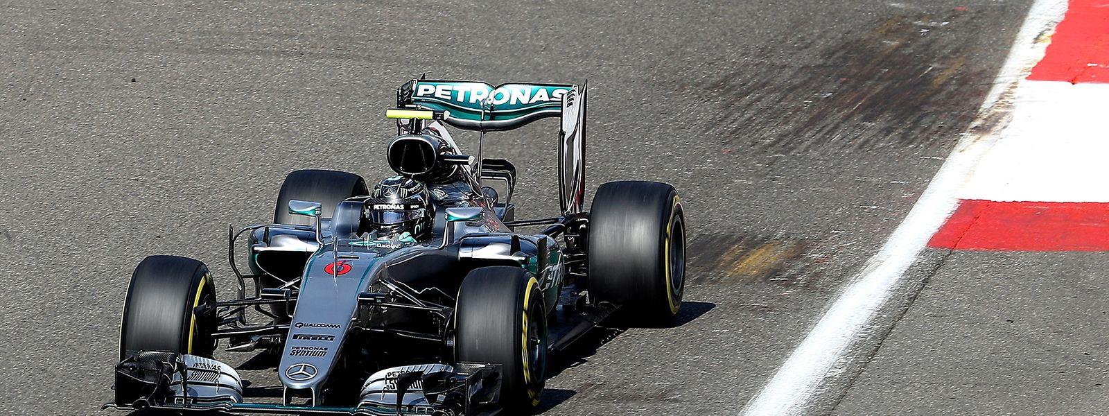 Spa: Lange lag Nico Rosberg in Führung.