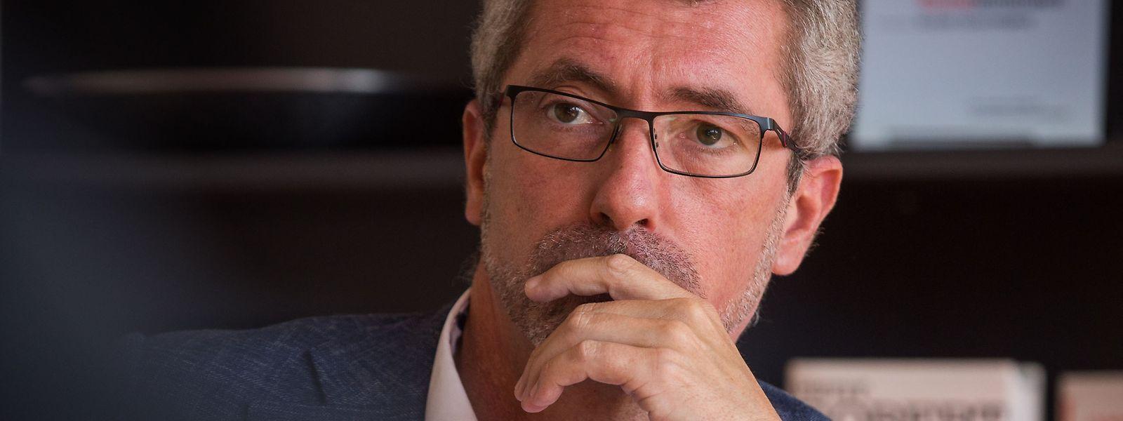 Frank Engel hat den Kampf um seine eigene Nachfolge als CSV-Chef eingeleitet.