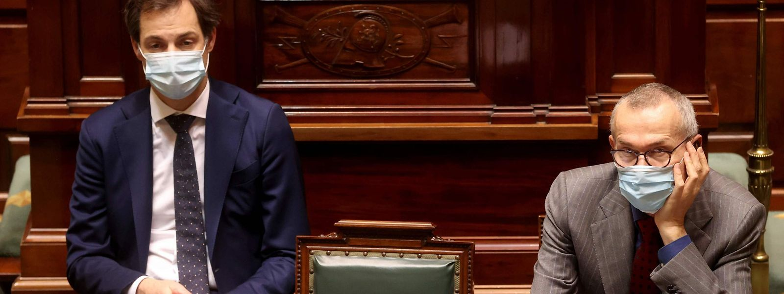 Le Premier ministre Alexander De Croo et le vice-Premier ministre (en charge de la Santé) Frank Vandenbroucke vont-ils trop loin dans les restrictions imposées?