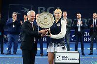 Tennis BGL BNP Paribas Luxembourg Open 2019 in Kockelscheuer am 20.10.2019 OSTAPENKO, JELENA (LAT)