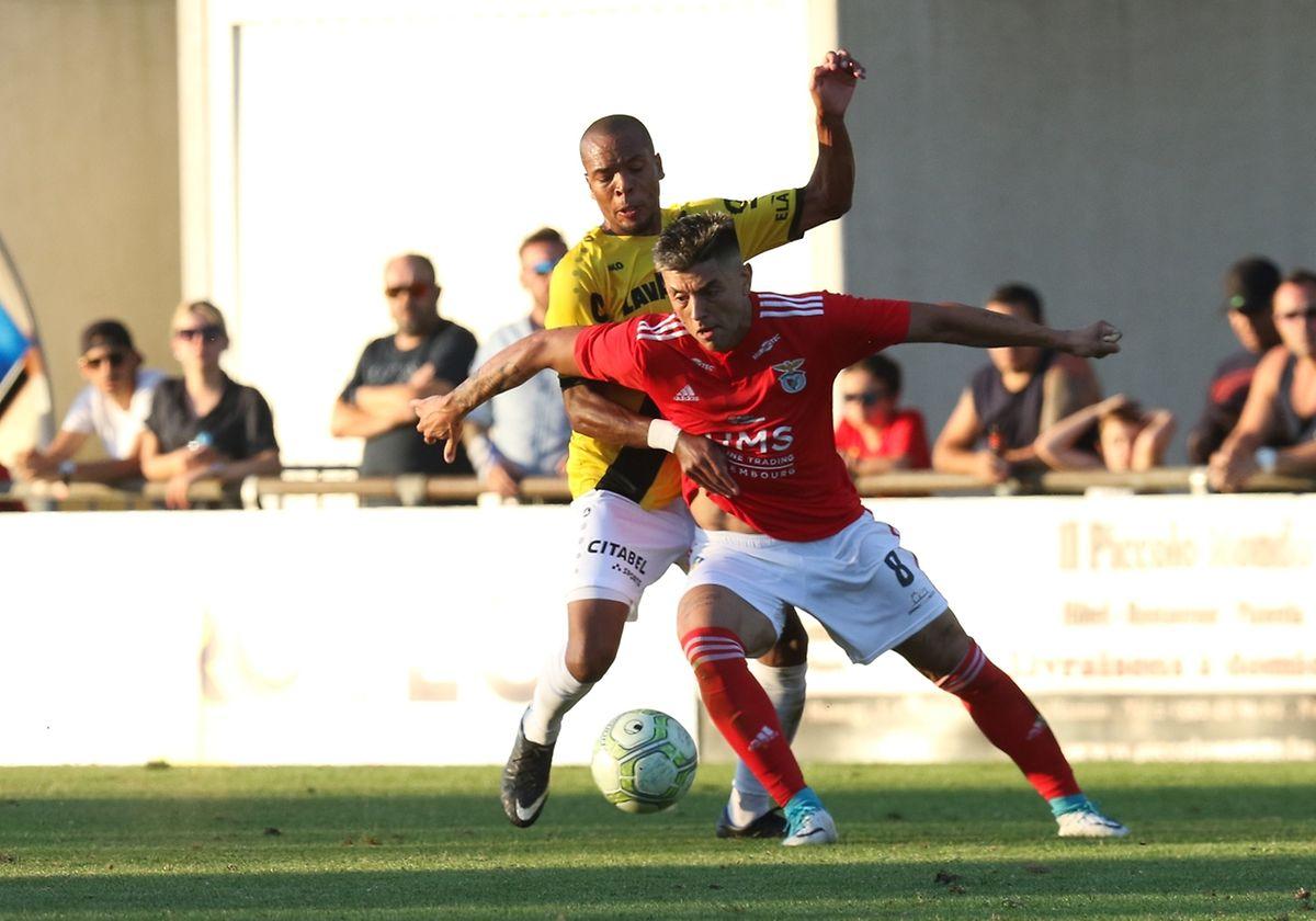 Jordan Yéyé a donné beaucoup de mal à Rafael Monteiro.