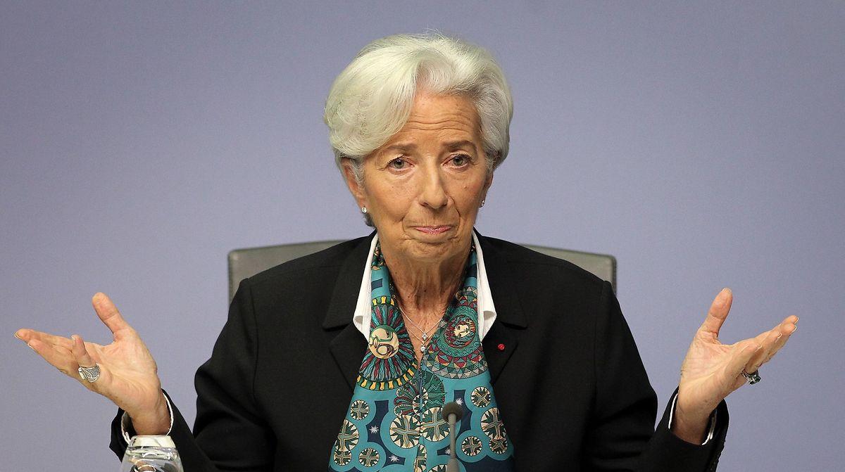 A bisserl was geht immer: Die Präsidentin der Europäischen Zentralbank Christine Lagarde.