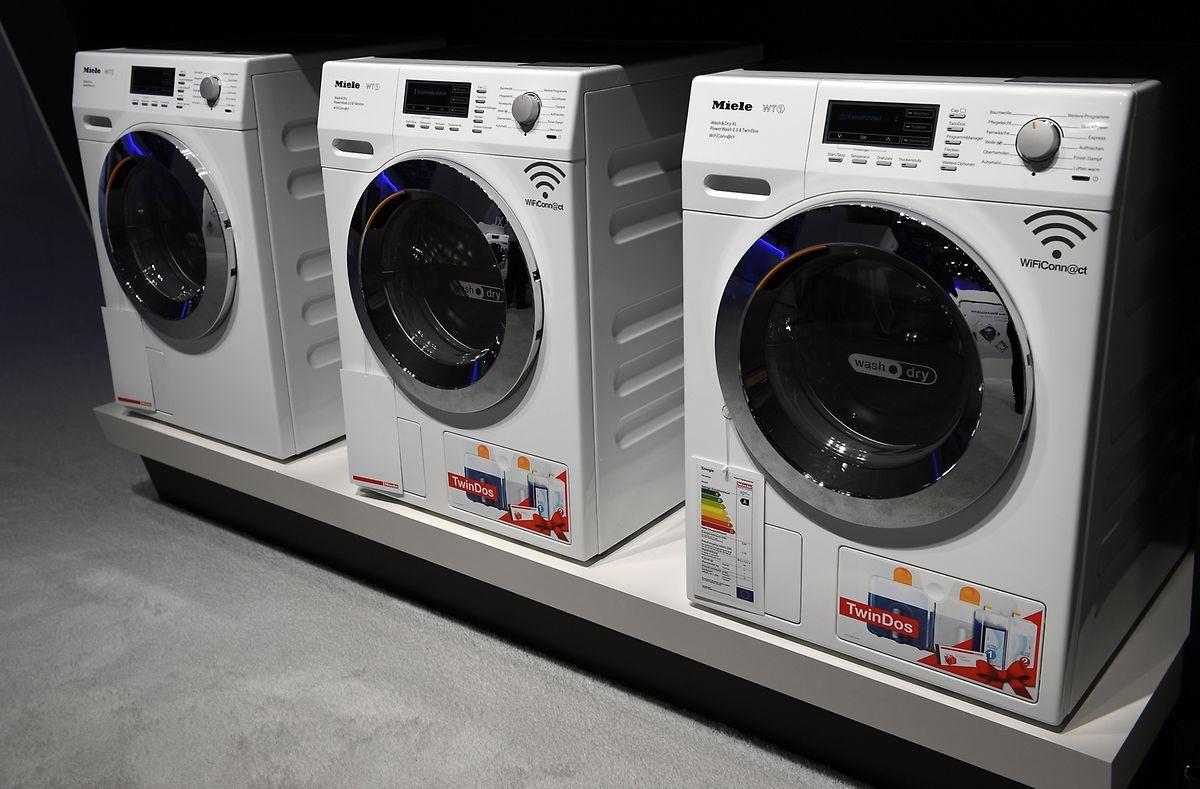 Miele verbindet die Funktionen der Waschmaschine W1 und des Wäschetrockners T1 in einem Gerät - dem WT1.