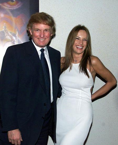 Das Paar im Jahr 1999.