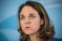 PK Koalitionsverhandlungen - Corinne Cahen - Foto : Pierre Matgé/Pierre Matgé