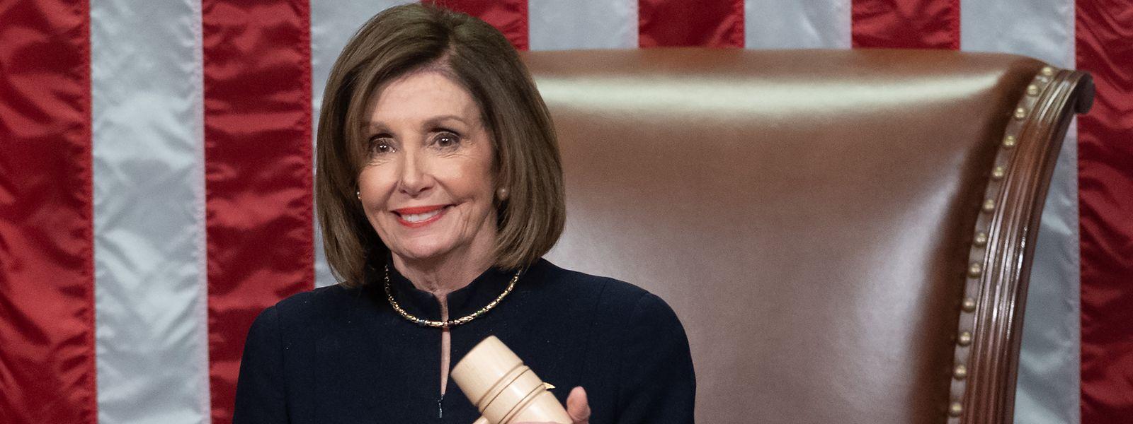 Nancy Pelosi estime que Donald Trump est «une menace constante» pour «la sécurité nationale».
