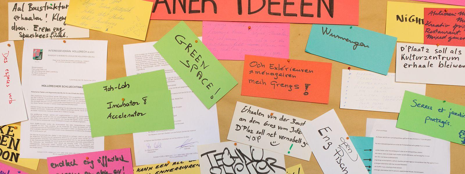 Zahlreiche Ideen sammelten die Stadtverantwortlichen bei der Porte ouverte am Samstag.