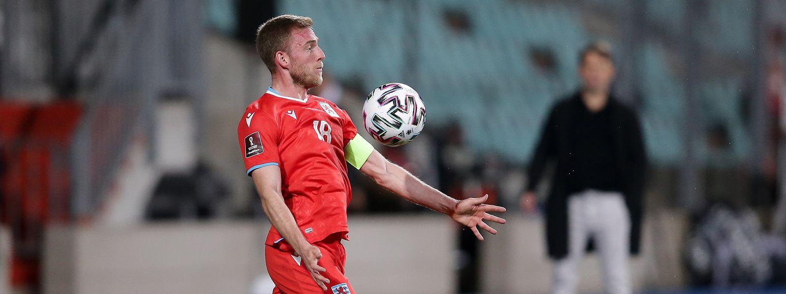 Laurent Jans, capitão dos leões vermelhos.